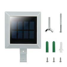 Neu 6 LEDs Solarlampe Solarleuchte Wandleuchte Außenlampe Dachrinnen Licht