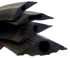 Black Heavy Duty RUBBER Cable Tidy Trunking Floor Protector