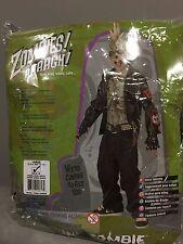Child Boy Punk Zombie Costume Rubies 882061 Size Large 12-14 slightly damaged
