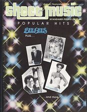 Sheet Music Magazine Aug Sep 1984 Bee Gees Anne Murray Nat Cole Modulation
