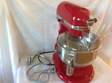 KITCHENAID MIXER PROFESSIONAL 6 525 WATTS 6 QUART RED KITCHEN AID