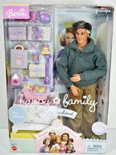 Mattel BARBIE HAPPY FAMILY NEIGHBORHOOD Baby's 1st Birthday GRANDPA DOLL New NIB