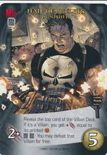 PUNISHER Upper Deck Marvel Legendary HAIL OF BULLETS