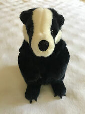 "Gund Badger Stuffed Animal Plush Toy #44187 Kohls for Kids 10"" Honey Toy Black"