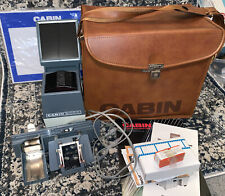 Vintage Cabin 900A Slide Projector With Carrying Bag And Extra Accessories
