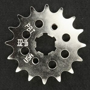 PBI - 332-16 -  Front Countershaft Sprocket, 16T - Made In USA