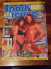SPORT REVUE bodybuilding magazine ROGER STEWART with Cory poster 12-94 (Ger)