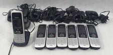 Gigaset Phones C430H, C430HX Handsets, Bases, Power supplies, Joblot, Bundle