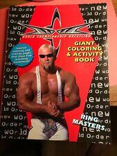 WCW Wrestling Coloring book 1999 Hulk Hogan Roddy Piper Macho Man