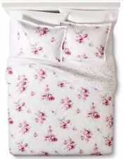 NIP Simply Shabby Chic Sunbleached Floral Twin Duvet Cover & Sham Set 2pc