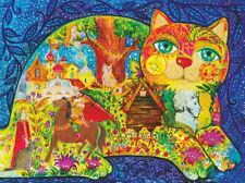 Wooden Jigsaw puzzle Pushkin's Fairy Tales 300 pcs. Artist Oksana Zaika NEW