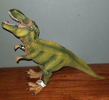 """D-73527 Schleich Green 11"""" Tyrannosaurus Rex T-Rex Green Dinosaur Figure New"""