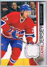 2014-15 UPPER DECK GAME JERSEY ALEX GALCHENYUK JERSEY 1 COLOR MONTREAL CANADIENS