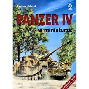 Kagero 35002 Panzer IV in Miniature For Modelling Military Vehicle Book RARE
