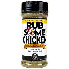 Rub Some Chicken Poultry Seasoning 6.0 Oz Savory Herbs & Garlic Gluten Free