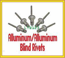 """(50) Aluminum Rivets (ABA812)    1/4"""" x 3/4"""" Max Grip"""