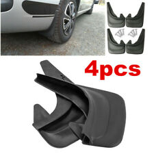 Front Rear Set Of 4 Black Sports Style Splash Mud Guards Flaps For Car Truck