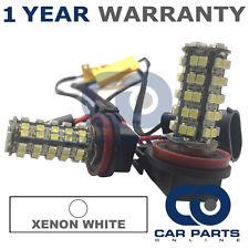 2X CANBUS WHITE H11 60 SMD LED FOG LIGHT BULBS FOR AUDI A1 A4 A5 A6 A8 Q3 Q5 TT