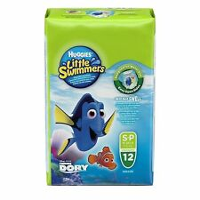 Huggies Little Swimmers Disposable Diapers - Small, 12 Count & Unopened