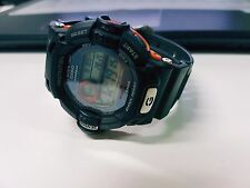 Vintage G-Shock G-9200 Riseman Dragon Edition Solar Alti-Baro Black Orange Gray