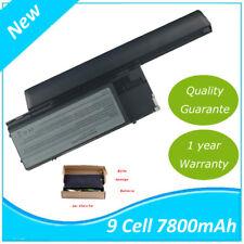 Laptop Batterie pour DELL LATITUDE D620 D630 D631 D640 PC764 7800mAh Neuf