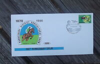 100TH HAWKESBURY AGRICULTURAL SHOW HVPS SOUVENIR COVER 1986