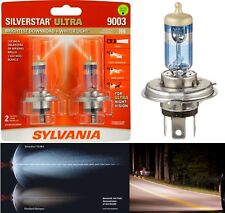 Sylvania Silverstar Ultra 9003 HB2 H4 60/55W Two Bulbs Head Light High Low Beam