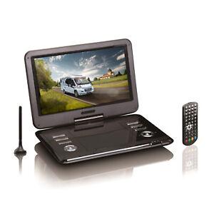 """Portabler 12"""" LCD-Bildschirm mit DVD-Player und DVB-T2 HD Tuner von Reflexion"""