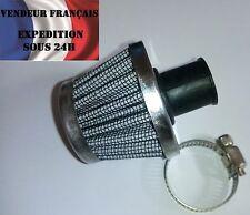Mini Filtre à Air, mise à l'air moteur, reniflard CONIQUE 10mm, VENDEUR FRANCAIS