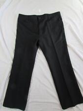 Wrangler 82BK Sta Prest Pants Tag 42x30 Measure 42x30 Polyester Dress Slacks