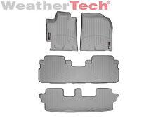 WeatherTech Floor Mats FloorLiner for Toyota Highlander - 2008-2013 - Grey