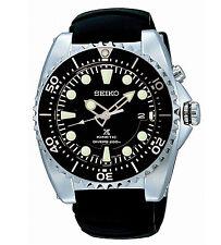 Seiko Prospex SKA371 Kinetic Divers Black Dial Rubber Strap Men's Watch SKA371P2