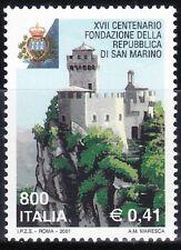 ITALIA 2001 2506 CENTENARIO REPUBLICA DE SAN MARINO1v.