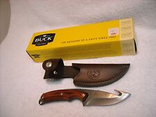 BUCK USA MODEL #193 BOS ARKANSAS GUIDE FIXED BLADE KNIFE
