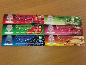 6 x Mixed Hornet King Size Flavour Cigarette Rolling Papers
