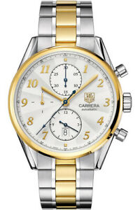 Tag Heuer Carrera Heritage Automatic Chronograph Watch 18ct Gold/SS