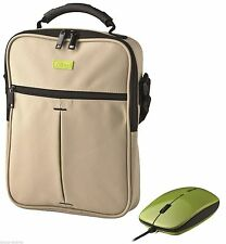 TRUST 17020 VERTICO SHOULDER CARRY BAG CASE WITH FREE SLIMLINE OPTICAL MOUSE