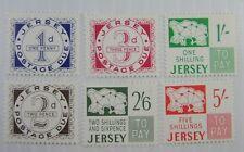 1969 Jersey SC #J1-6 Postage Due  MNH stamp set