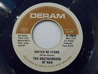 The Brotherhood Of Man United We Stand / Say A Prayer 45 Deram Vinyl Record