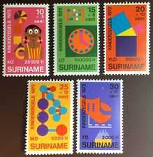 Surinam 1972 Child Welfare MNH