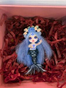 [STOCK]Mermaid Xiaoxi white+black full-set【Gulliver】OB11 mini YO-SD 5cm BJD doll