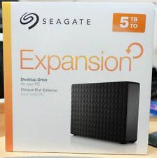 NEW! Seagate Expansion 5TB External Hard Drive (STEB5000100)