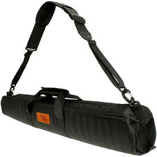 Black 80cm Padded Travel Carrying Bag with Shoulder Strap for Tripods Sleeve