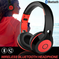 Foldable Bluetooth Stereo Headphones Kids DJ Sports Headset for iPod PC MP3