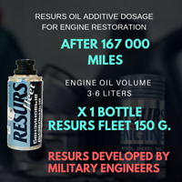 RESURS FLEET 150 g. ENGINE OIL ADDITIVE DEVELOPED BY MILITARY ENGINEERS