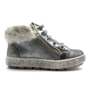 scarpe da bambina Naturino polacchino pelliccia sneakers mid invernali pelle