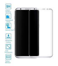 Protector de Pantalla Cristal Templado Curvo 3D para Samsung Galaxy S8 Metal