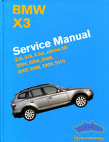 X3 BMW SHOP MANUAL SERVICE REPAIR BOOK BENTLEY HAYNES CHILTON