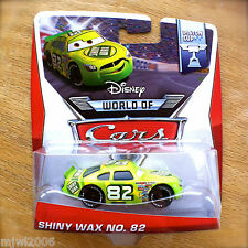 Disney World of Cars SHINY WAX NO. 82 2014 PISTON CUP theme diecast 11/16 Pixar