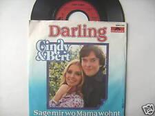 "7"" CINDY & BERT DARLING SAGE MIR WO MAMA WOHNT"